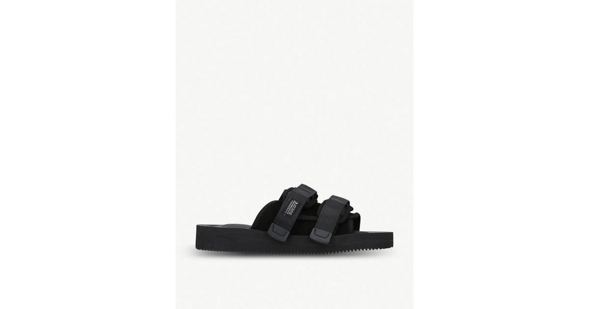 e4717e258bca Lyst - Suicoke Moto-vs Neoprene Sandals in Black for Men