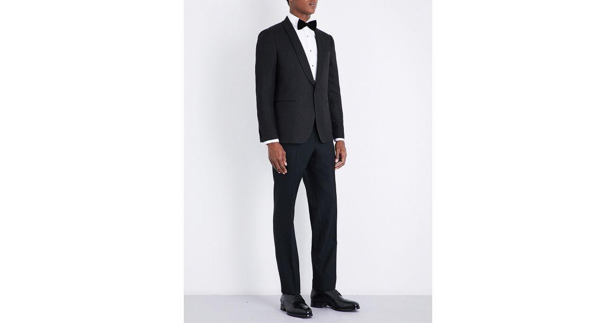 389f8ea89dcc Lyst - Ferragamo Sparkle Eve Slim-fit Wool Tuxedo in Black for Men