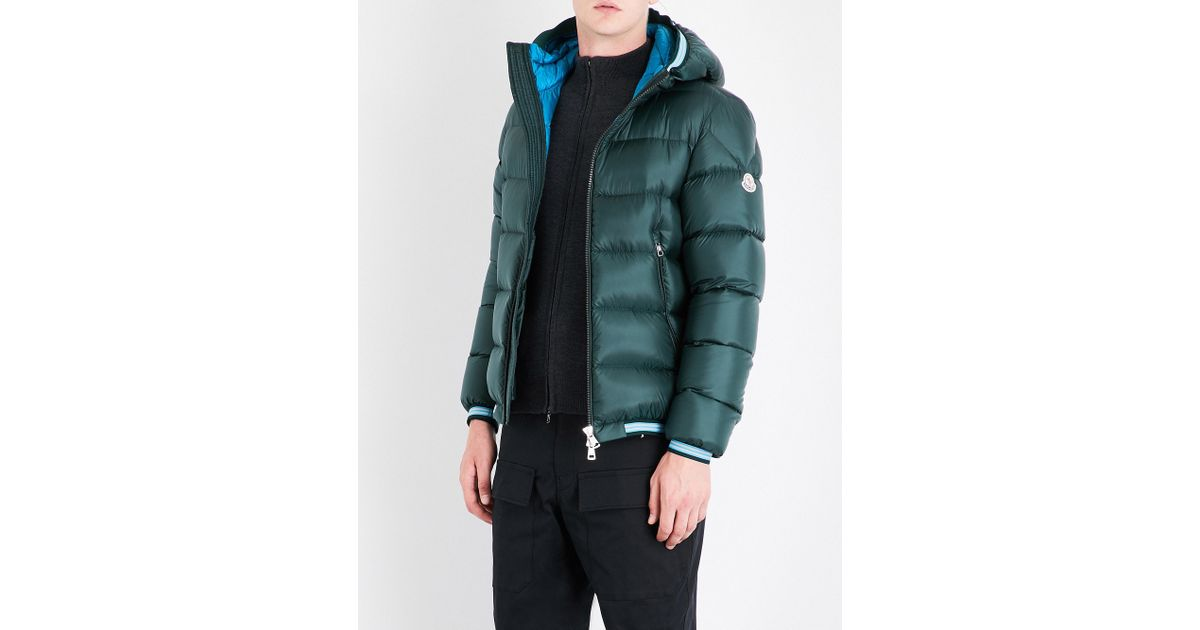 ecb4cfb7c Lyst - Moncler Jeanbart Quilted Shell Jacket in Green for Men