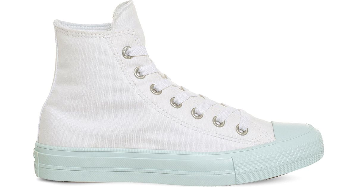 49ff484f887 Lyst - Converse Lunarlon Chuck Taylor All Star Ii Shield Canvas High-top  Trainers in White