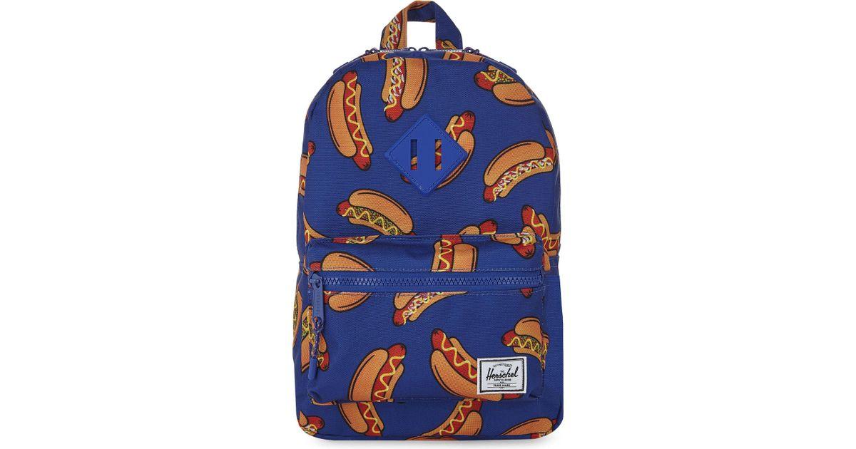 c625e11cd575 Herschel Supply Co. Hot Dog Backpack in Blue - Lyst