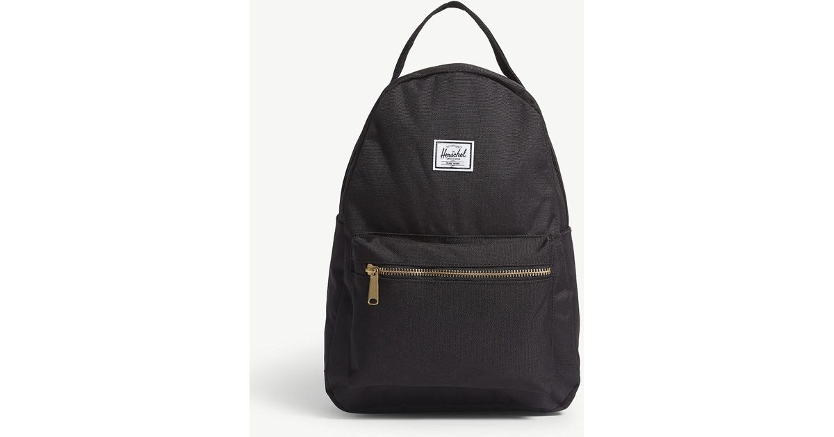 df41558b36 Herschel Supply Co. . Black Nova Backpack in Black - Lyst