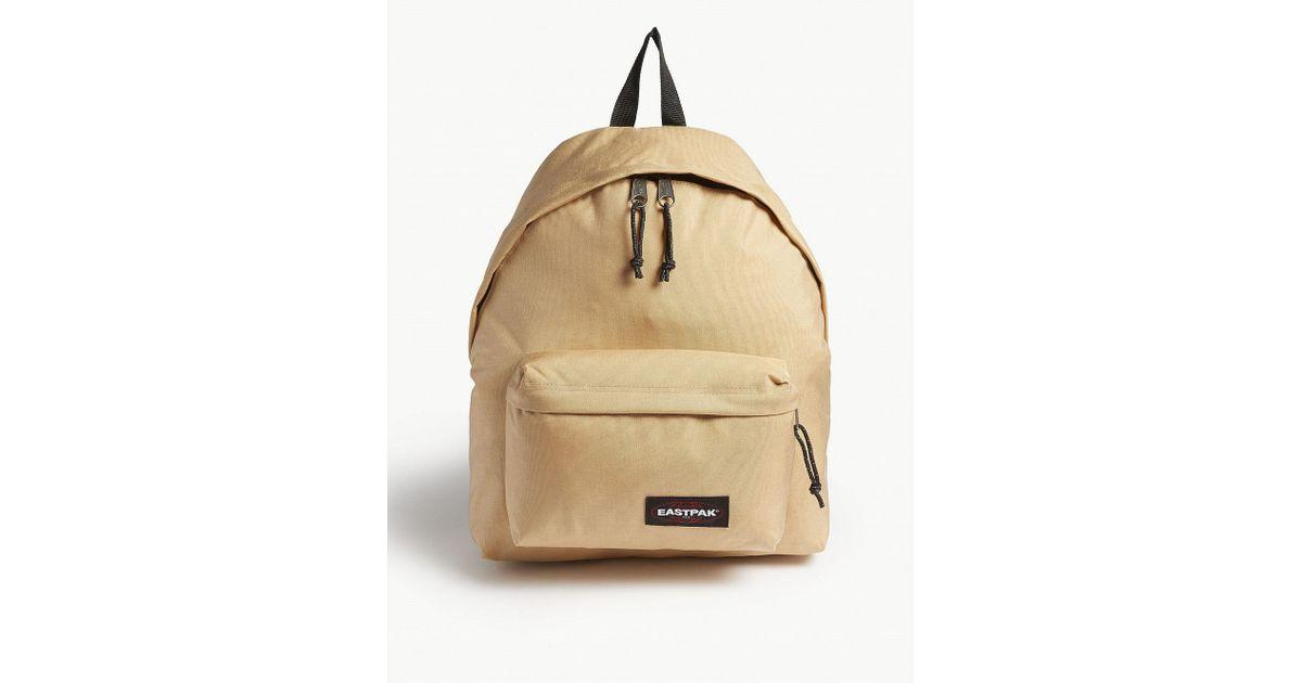 2799c6db9 Lyst - Eastpak Padded Pak r Backpack in Natural for Men