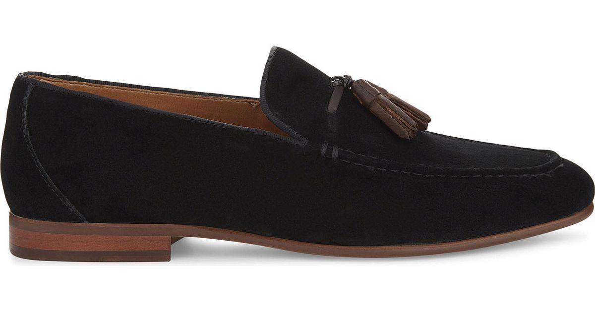 ALDO Wyanet suede loafers Black - Q7218