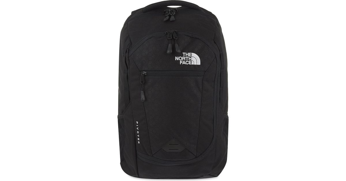 6d784ed5c5 Lyst - The North Face Pivoter Backpack in Black for Men
