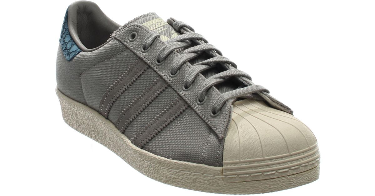 the latest a571e 57e4f Lyst - adidas Superstar 80s Animal Oddity in Gray for Men