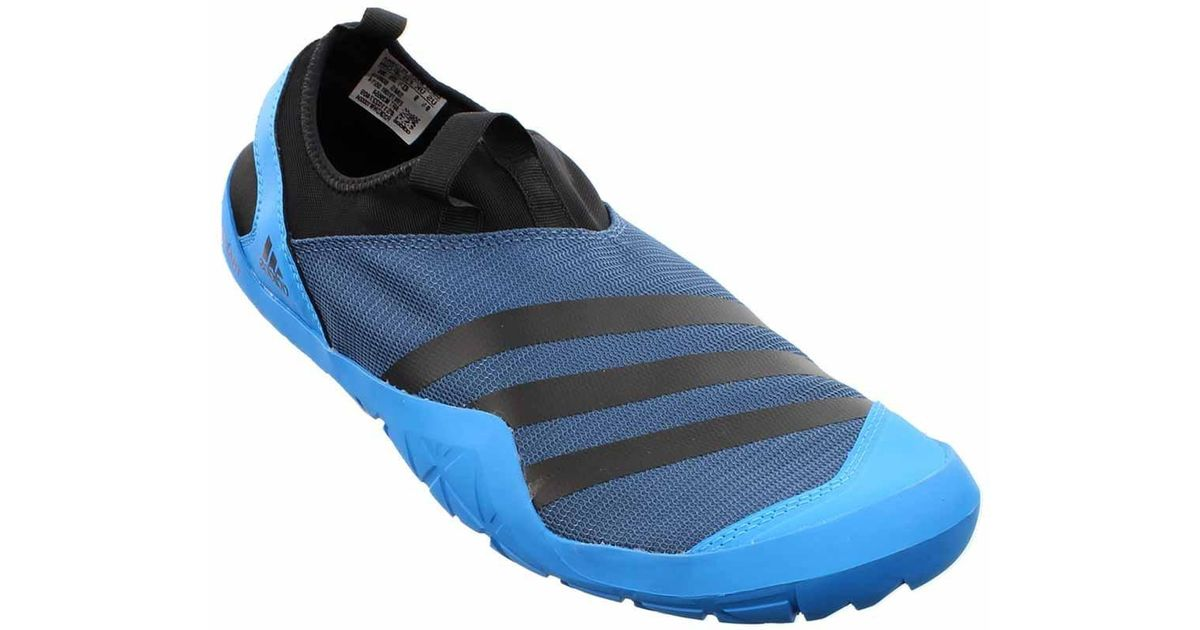 new style 753bd 612ee Adidas - Blue Climacool Jawpaw Slip On for Men - Lyst