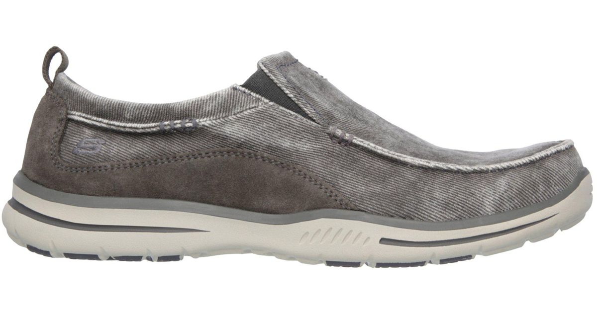 101904f22717 Lyst - Skechers Relaxed Fit  Elected - Drigo in Gray for Men