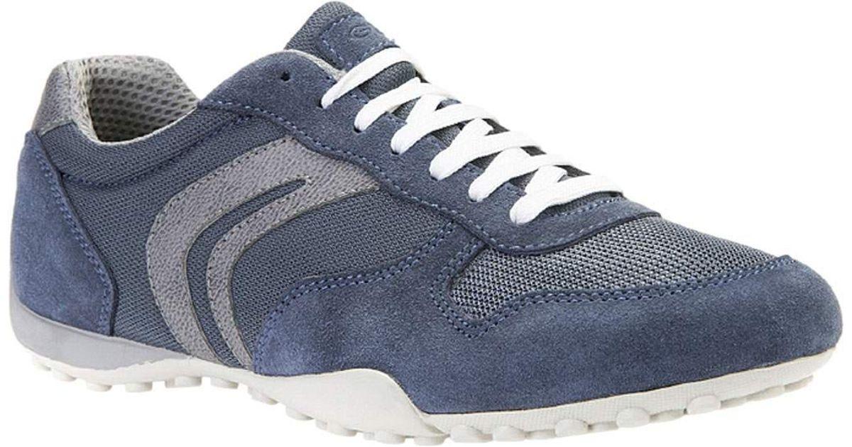aa2766e836 Geox Snake Sneaker U7207c for Men - Lyst