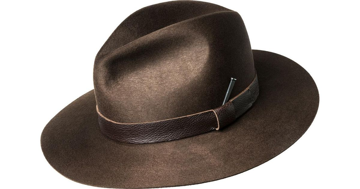 483c6393c Bailey of Hollywood - Brown Bankhead Fedora 14530 for Men - Lyst