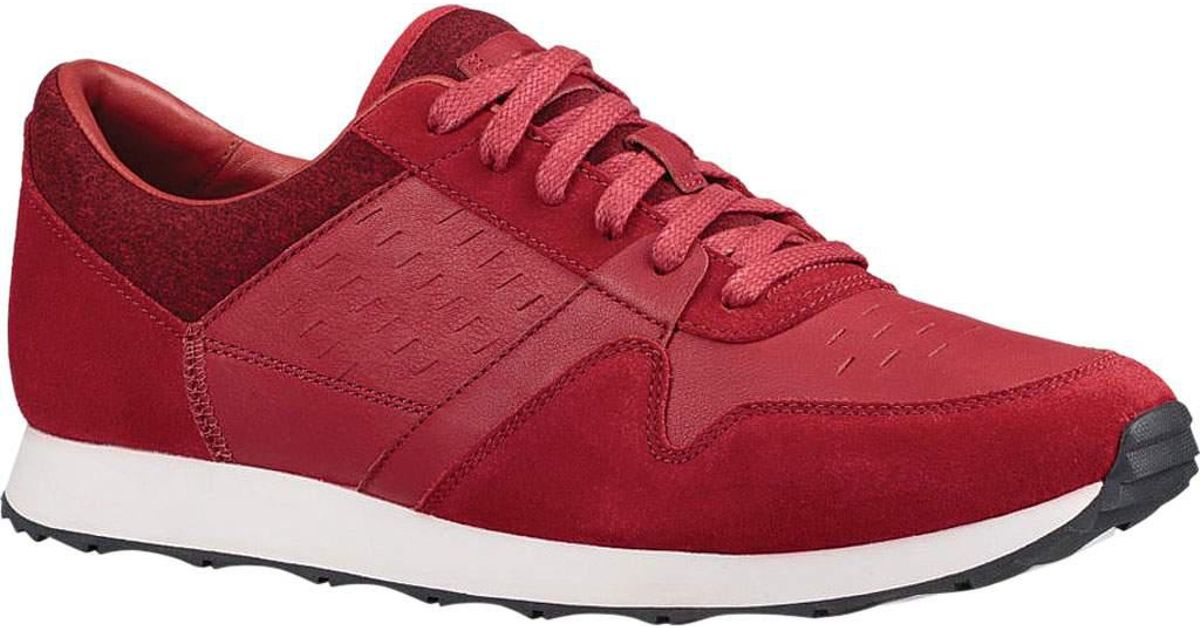 912a7e9f5d0 Ugg - Red Trigo Sneaker for Men - Lyst