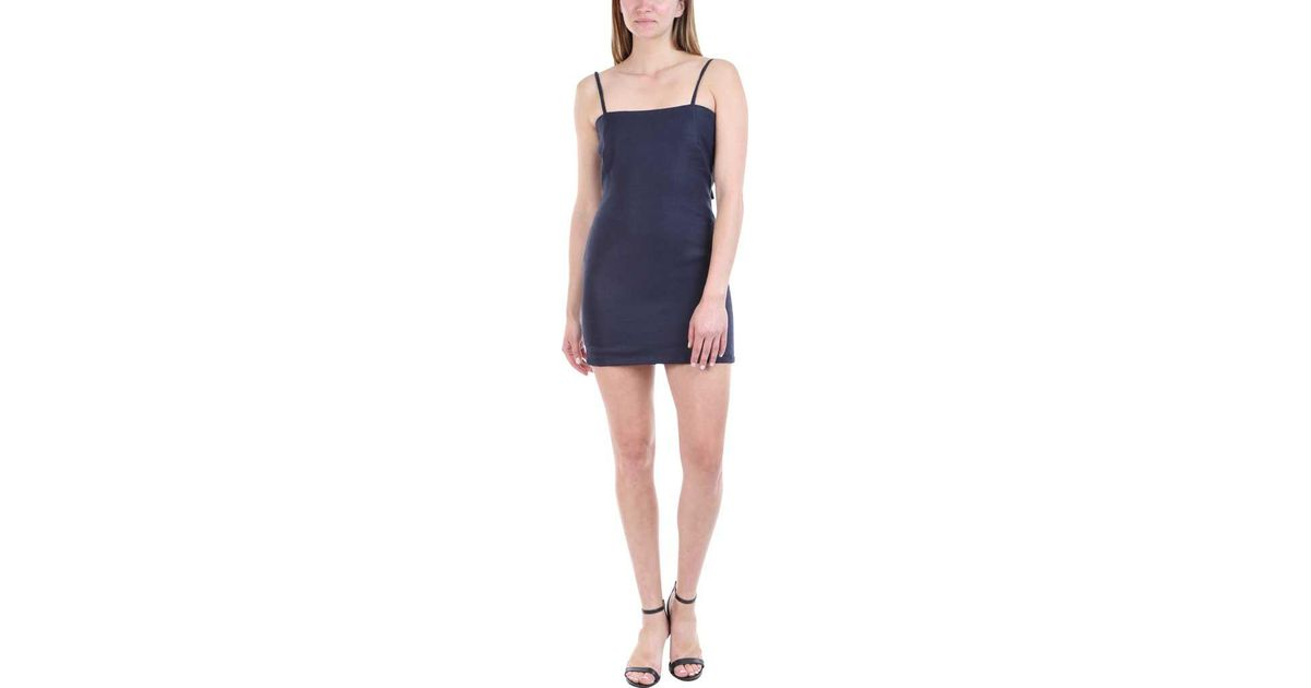5db1c591cf8 Lyst - Sir. The Label Gracie Mini Dress in Blue