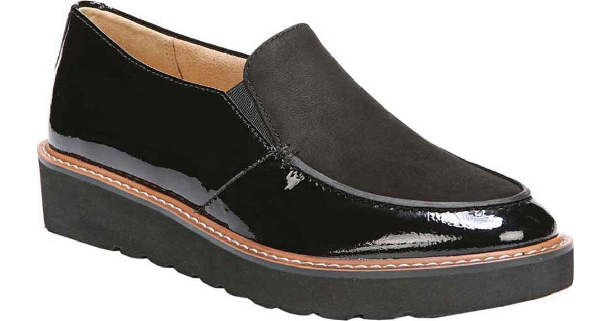 1c9625c69e8 Lyst - Naturalizer Aibileen Moc Toe Loafer in Black