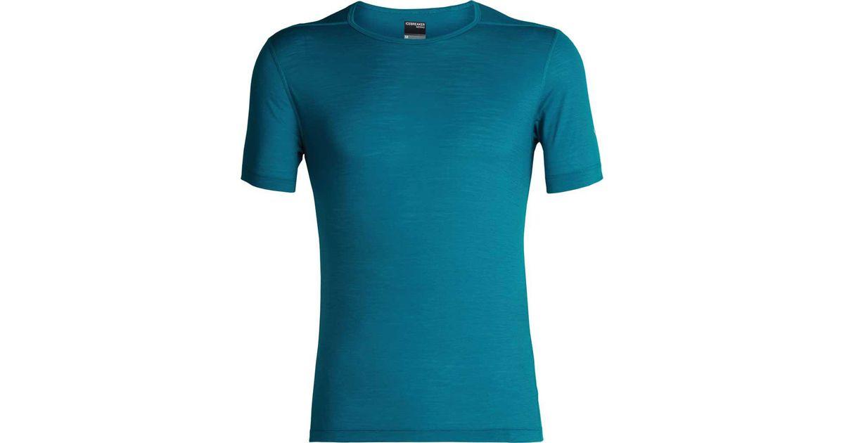 212f1c55 Lyst - Icebreaker Zeal Crewe Short Sleeve Tee in Blue for Men