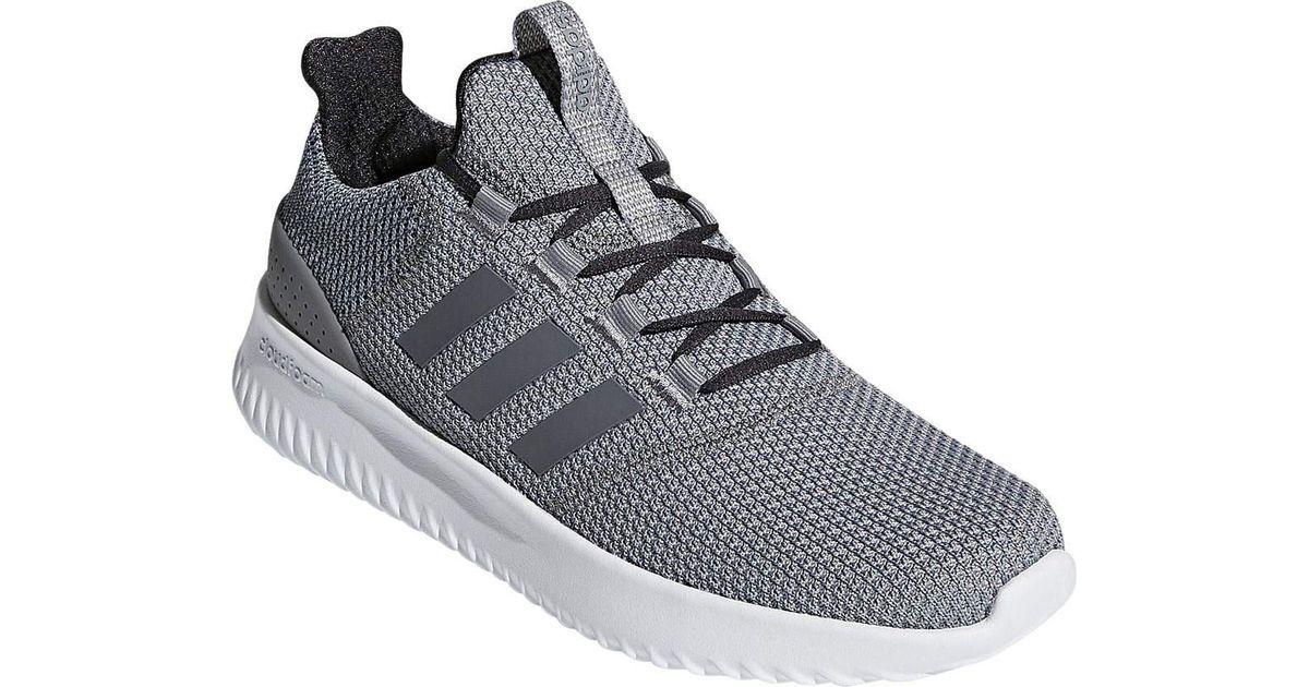Lyst adidas neo cloudfoam ultimate scarpa da corsa in grigio per gli uomini.