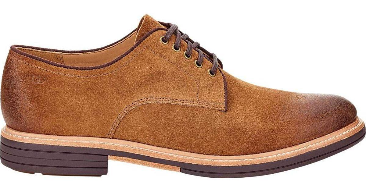 0d1d8b90119 Ugg - Brown Jovin Derby Shoe for Men - Lyst