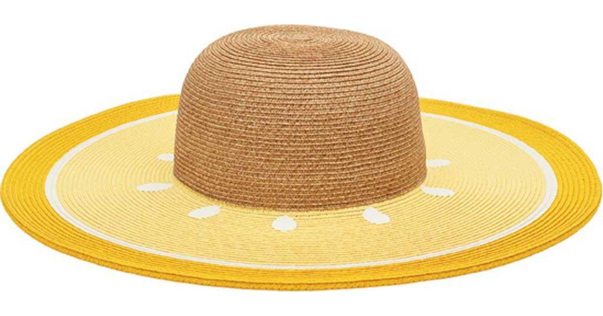 Lyst - San Diego Hat Company Ultrabraid Sun Brim Fruit Hat Ubl6803 in Yellow 3cb1b14f1ae1