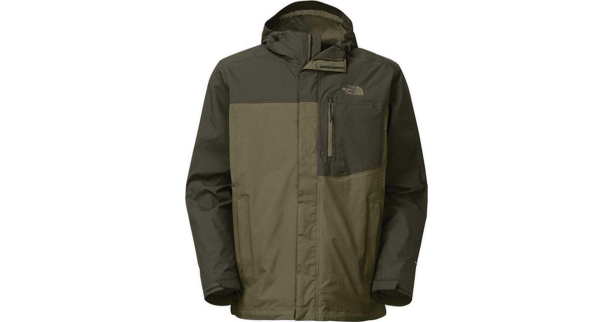 dc22b6928 The North Face - Green Atlas Triclimate Jacket for Men - Lyst