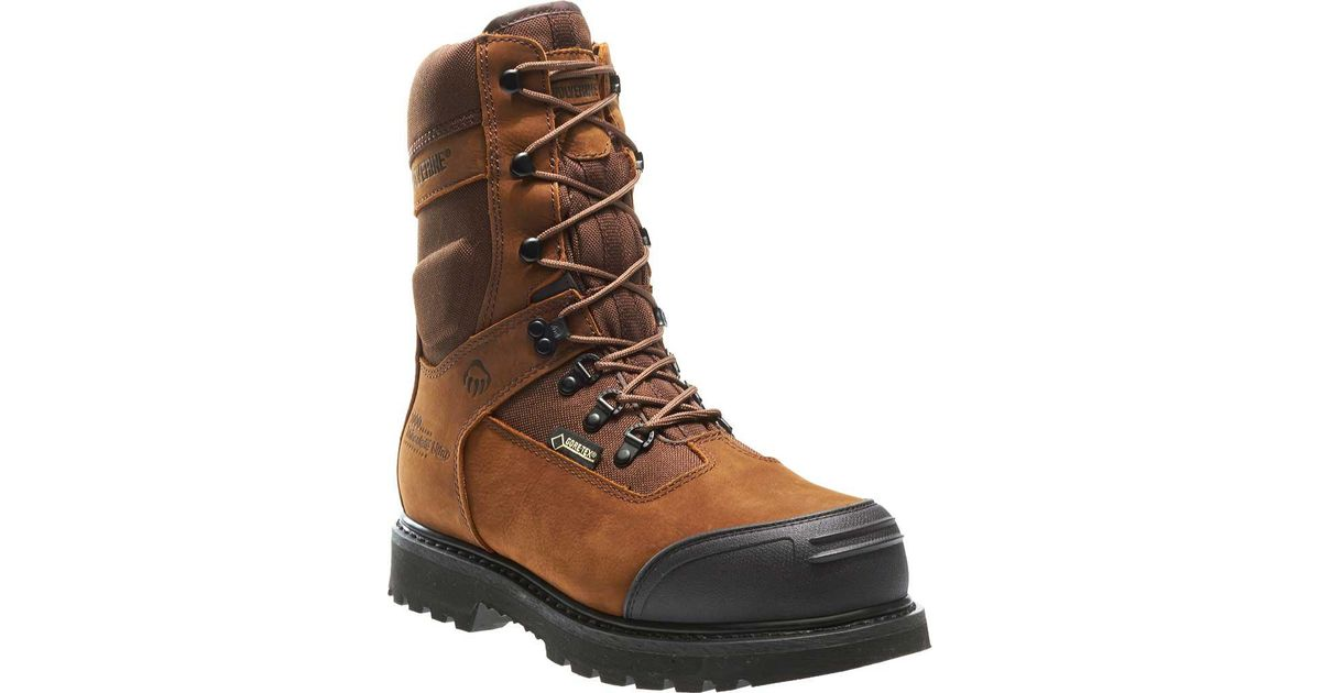 d14a1411b79 Wolverine - Brown Big Sky Insulated Goretex Waterproof Composite Toe for  Men - Lyst
