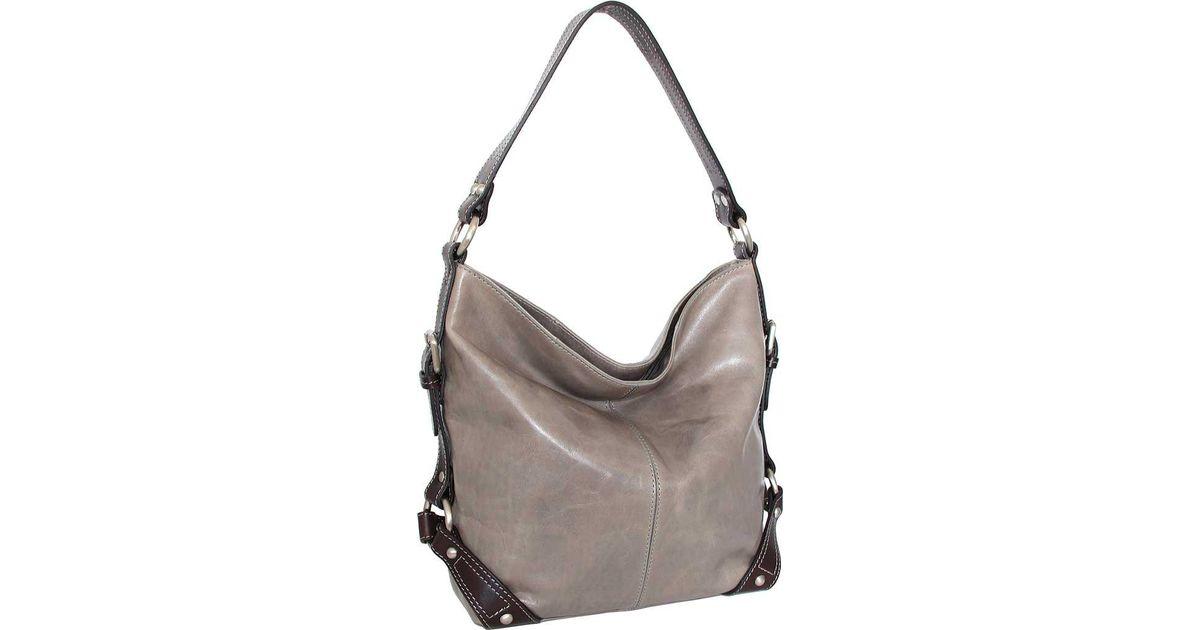 Lyst - Nino Bossi Genna Shoulder Bag in Gray ba8e16cfad81d