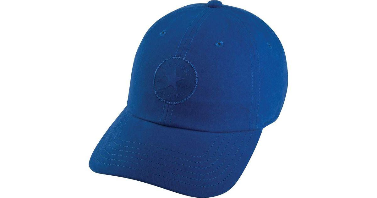 7f2363766303 Lyst - Converse Monotone Core Cap in Blue for Men