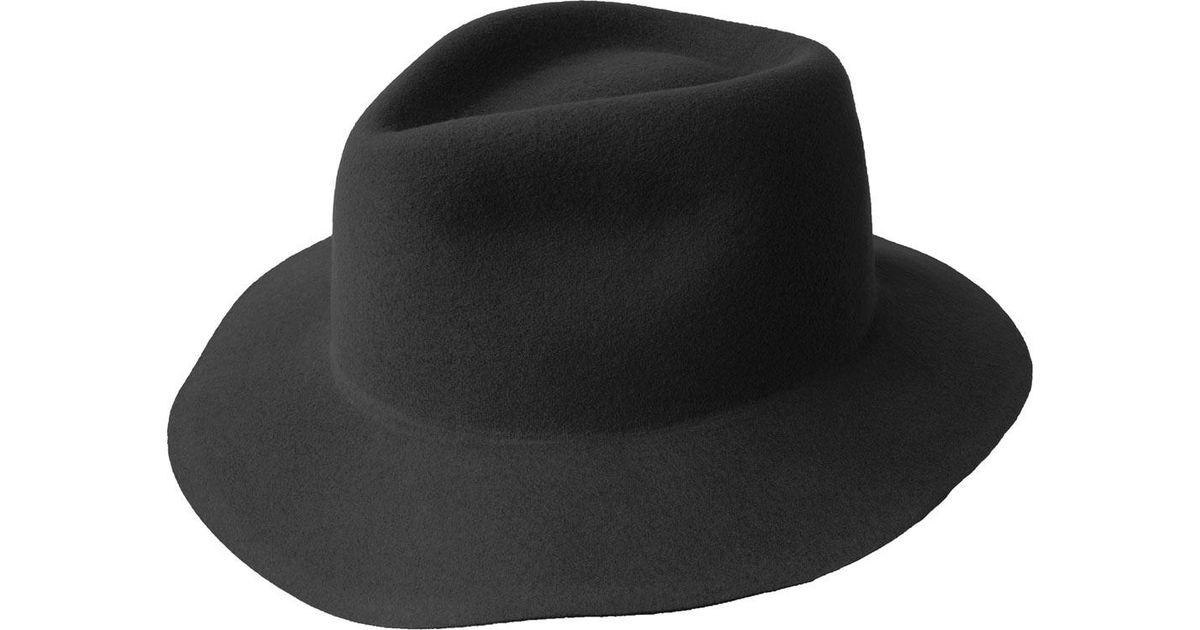b4fd4823f3793 Lyst - Bailey of Hollywood Pierpont Litefelt Fedora 70602bh in Black for Men