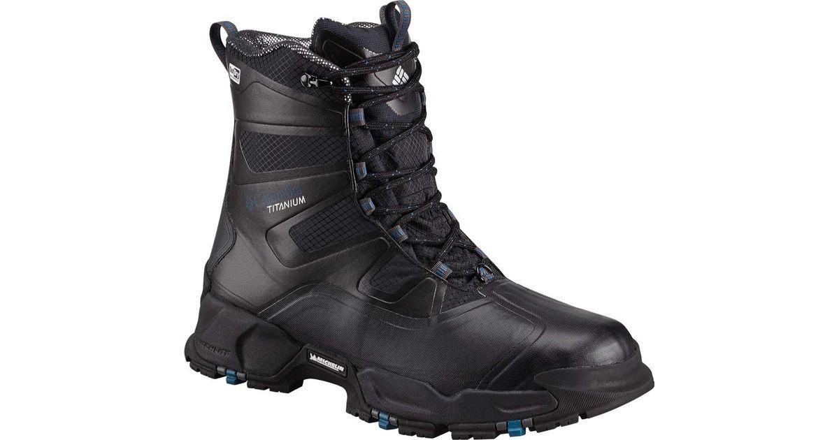 Columbia Canuk Titanium Hiking Boot(Men's) -Graphite/Heatwave Textile Cheap Top Quality GmsUi