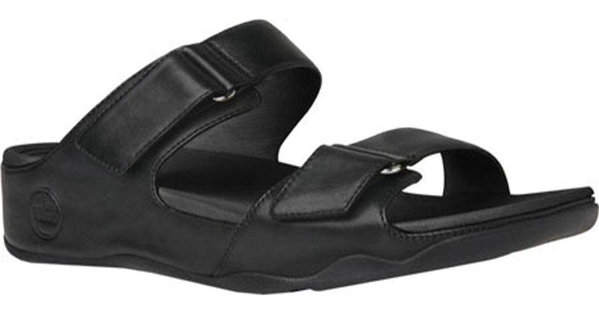 ccca6fc37 Lyst - Fitflop Goodstock Sandal in Black