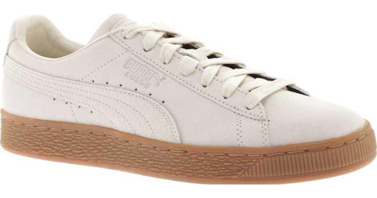 5ef89c743aed93 Lyst - PUMA Suede Classic Natural Warmth Sneaker in Natural for Men