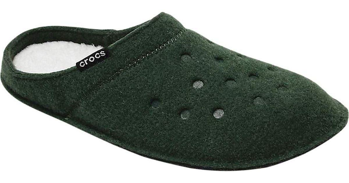 100% autentyczności Data wydania: renomowana strona Crocs™ - Green Classic Slipper - Lyst