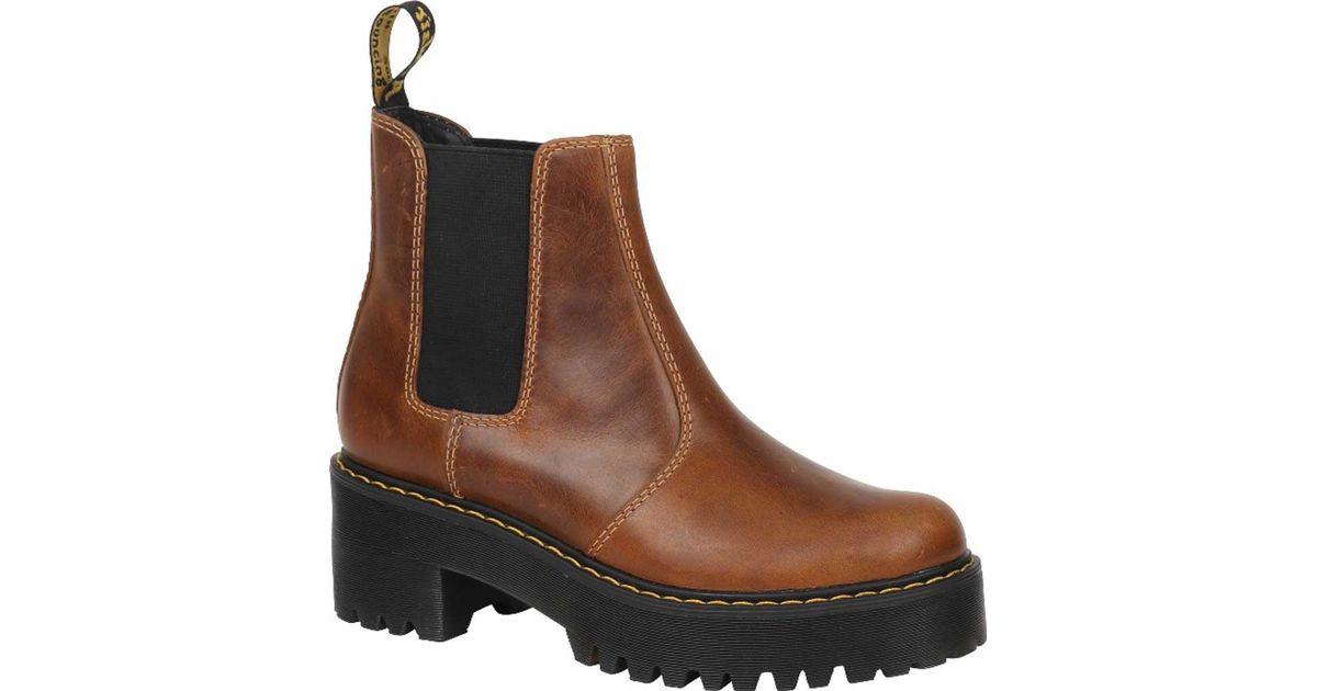 6ef2bdfd984 Lyst - Dr. Martens Rometty Chelsea Boot in Brown