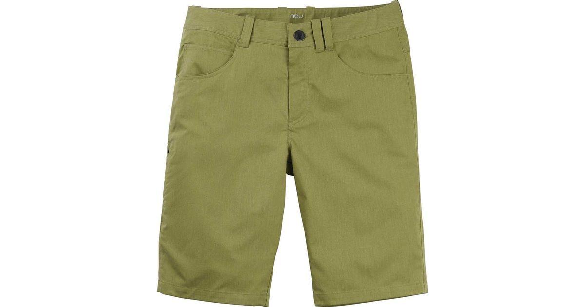 c0611fa61a Lyst - Nau Stretch Motil 5-pocket Short in Green for Men