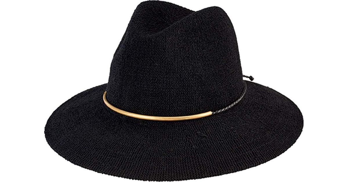 4fd47f8e682 Lyst - San Diego Hat Company Knit Fedora With Braided Faux Suede Cth8077 in  Black for Men