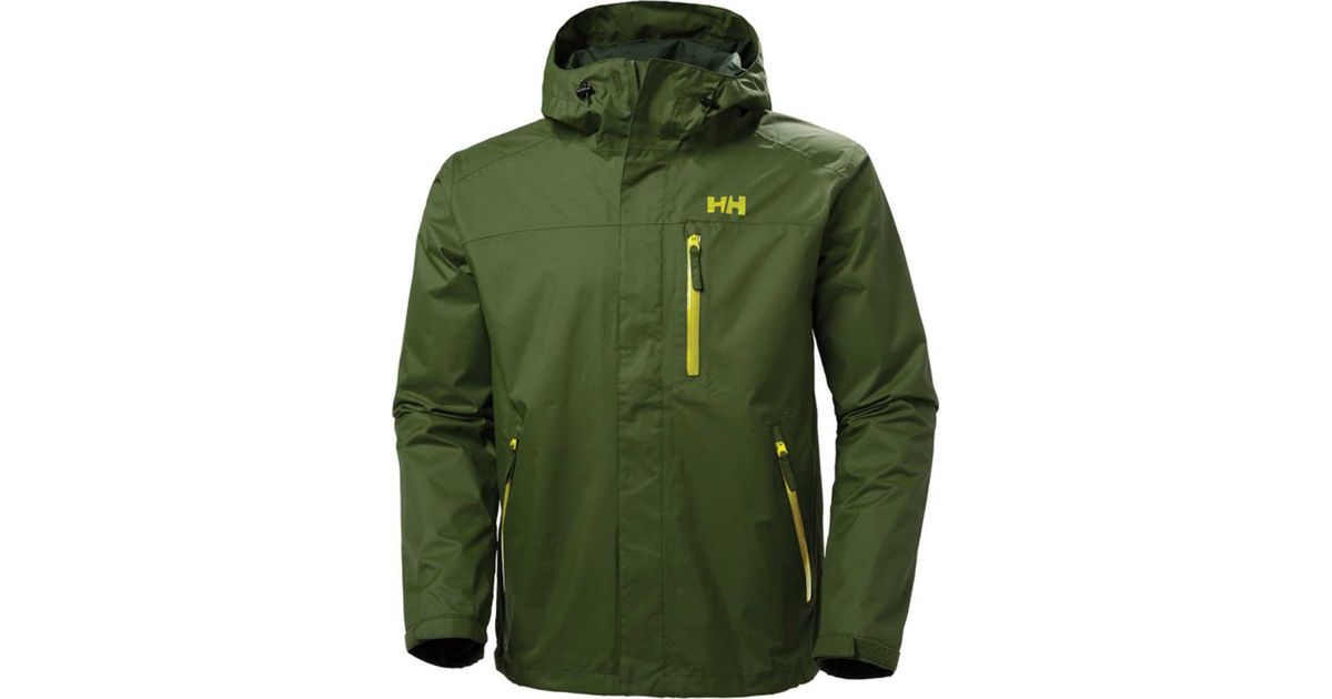 fc62bdeb492 Lyst - Helly Hansen Vancouver Jacket in Green for Men