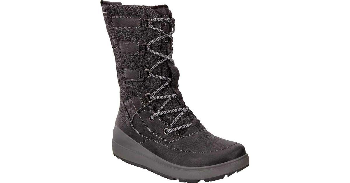 177c90330118b Ecco Noyce Gore-tex High Snow Boot in Black - Save 22% - Lyst