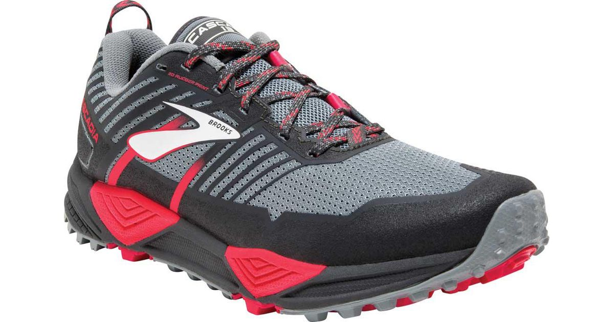 4bc6d1ddfe57e Lyst - Brooks Cascadia 13 Trail Running Shoe in Gray