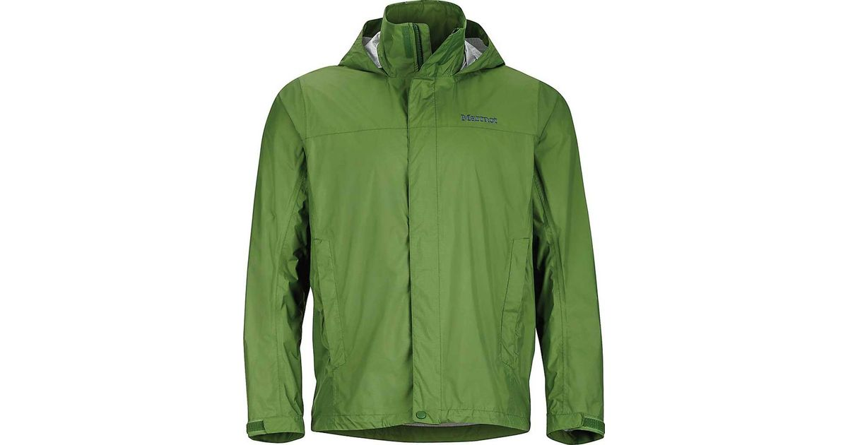 amazing quality on sale wide selection of colours and designs Marmot - Green Precip Jacket 41200 for Men - Lyst