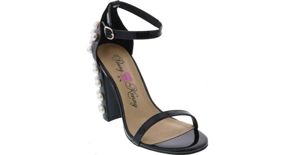 Penny Loves Kenny Ruche Ankle Strap Sandal (Women's) dcYrz49GC
