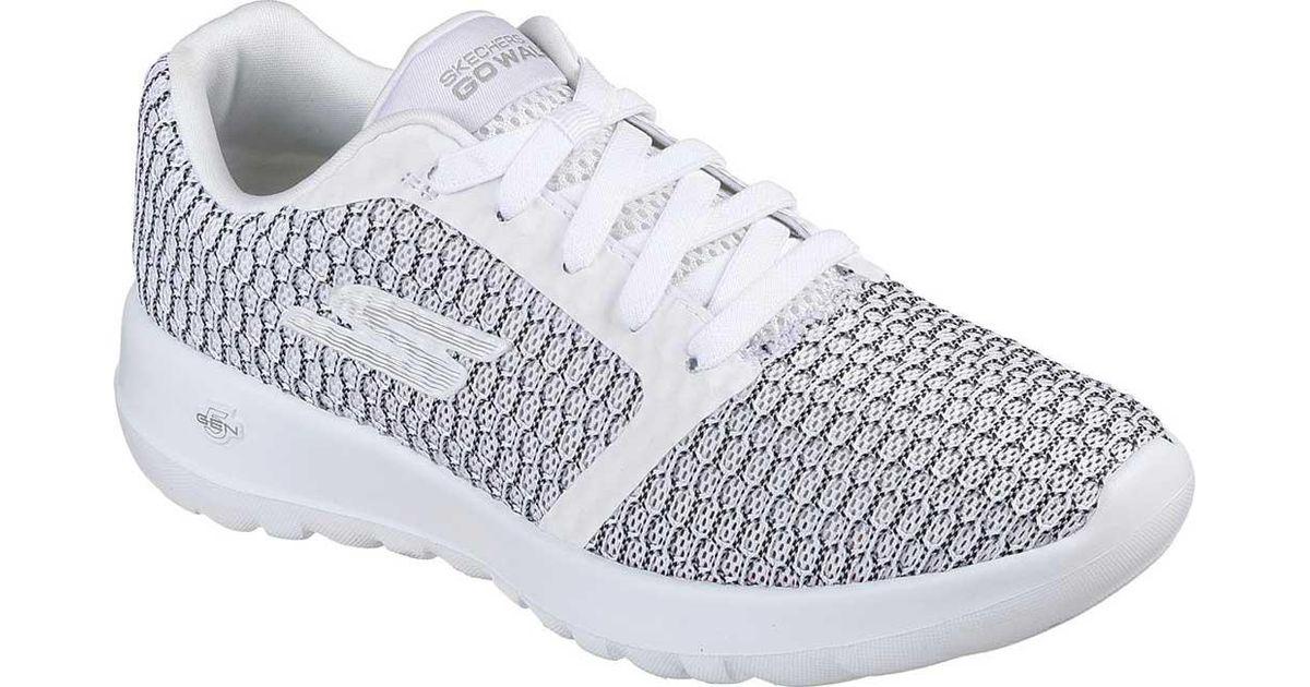 397d1e3e0a Lyst - Skechers Gowalk Joy Relish Sneaker in White