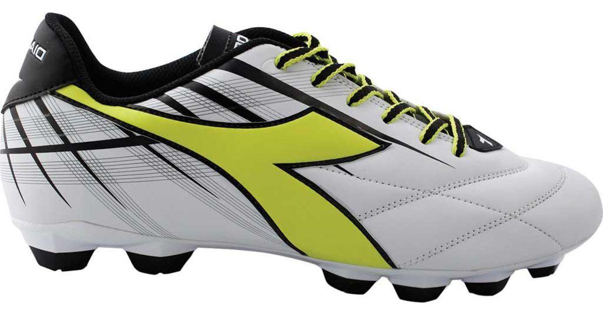 351f45f4e Lyst - Diadora Forte Md Lpu Soccer Cleat in Yellow for Men