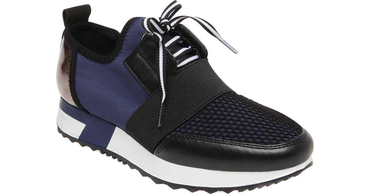 8fb3ddbba4898 Steve Madden Antics Sneaker in Blue - Lyst