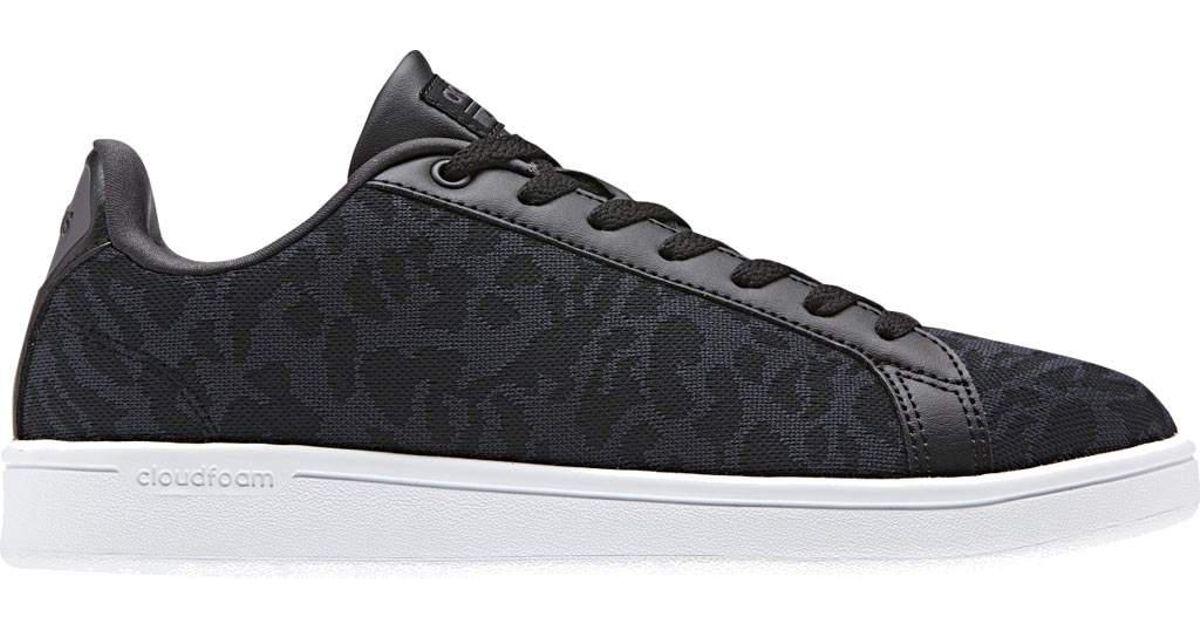 adidas neo cloudfoam advantage clean court shoe