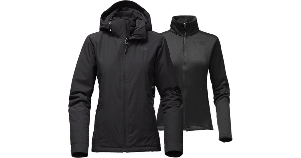 15d240dd8931 ... hot lyst the north face whestridge triclimate jacket in black 99463  77642