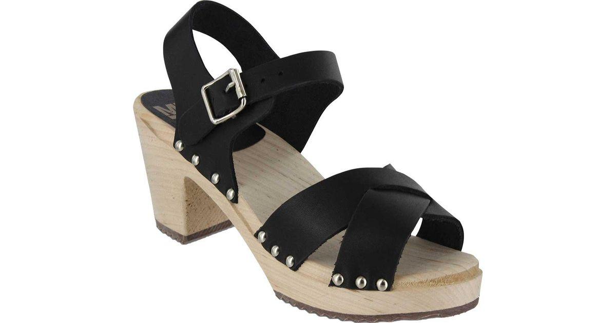 e4440fa7a74 Lyst - MIA Gertrude Clog Sandal in Black