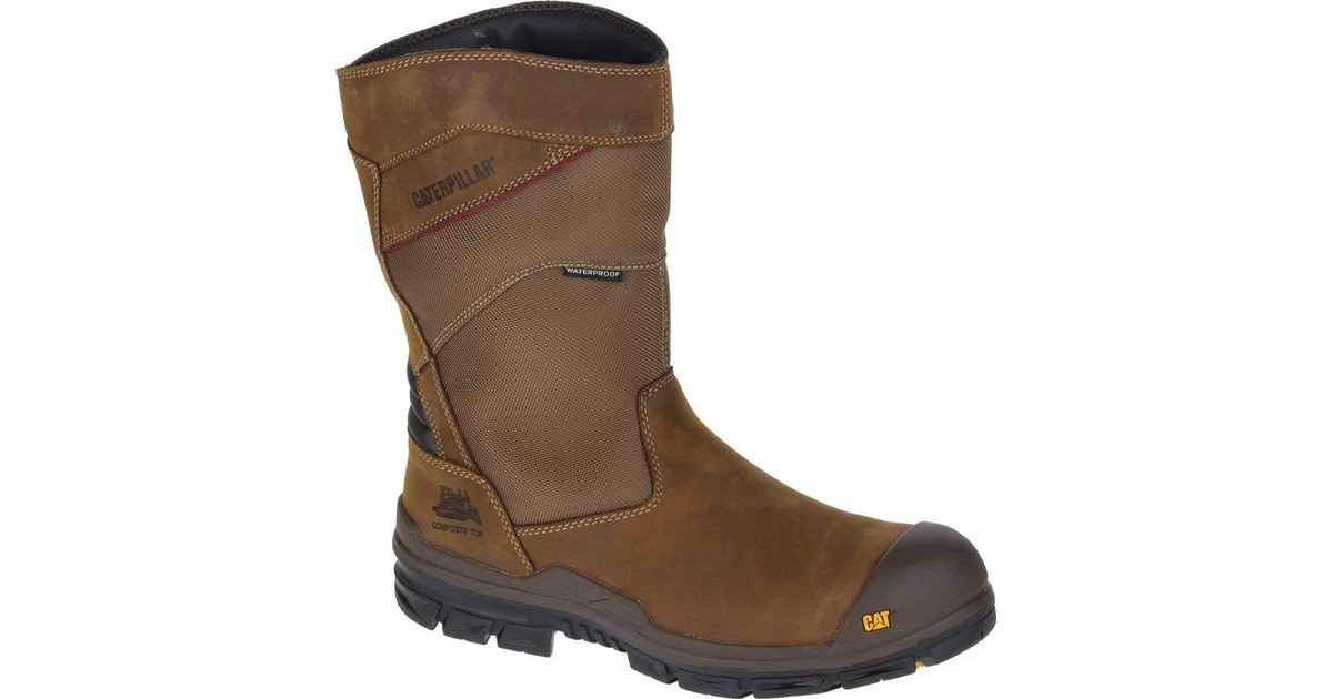 Lyst - Caterpillar Differential Waterproof Nano Toe/dark Brown Industrial  And Construction Shoe in Brown for Men - Save 10%
