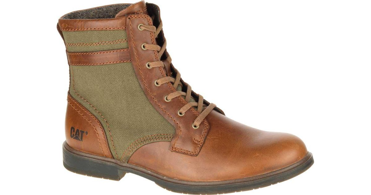 931636825a5c7d Caterpillar Abe Canvas Ii Ankle Boot in Brown for Men - Lyst
