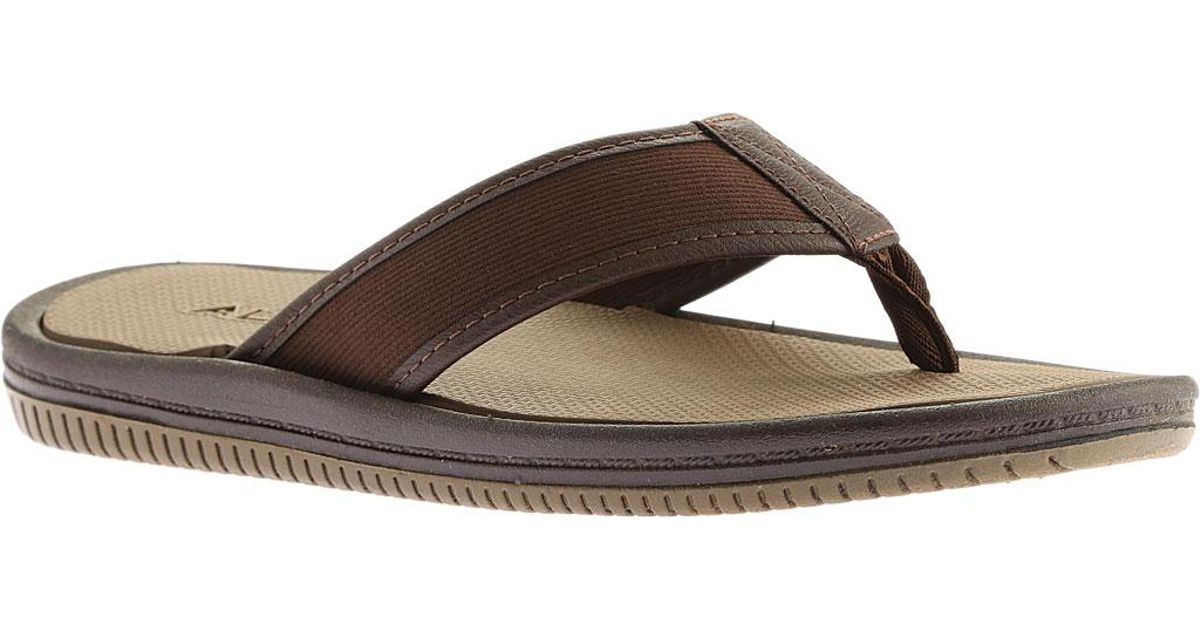 37a80537572b2e Lyst - ALDO Canotto Thong Sandal in Brown for Men