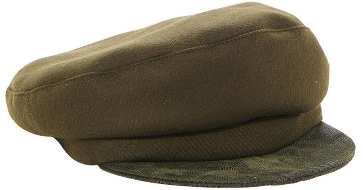 cde94a08 House of Lafayette - Green Fishmans Hat for Men - Lyst