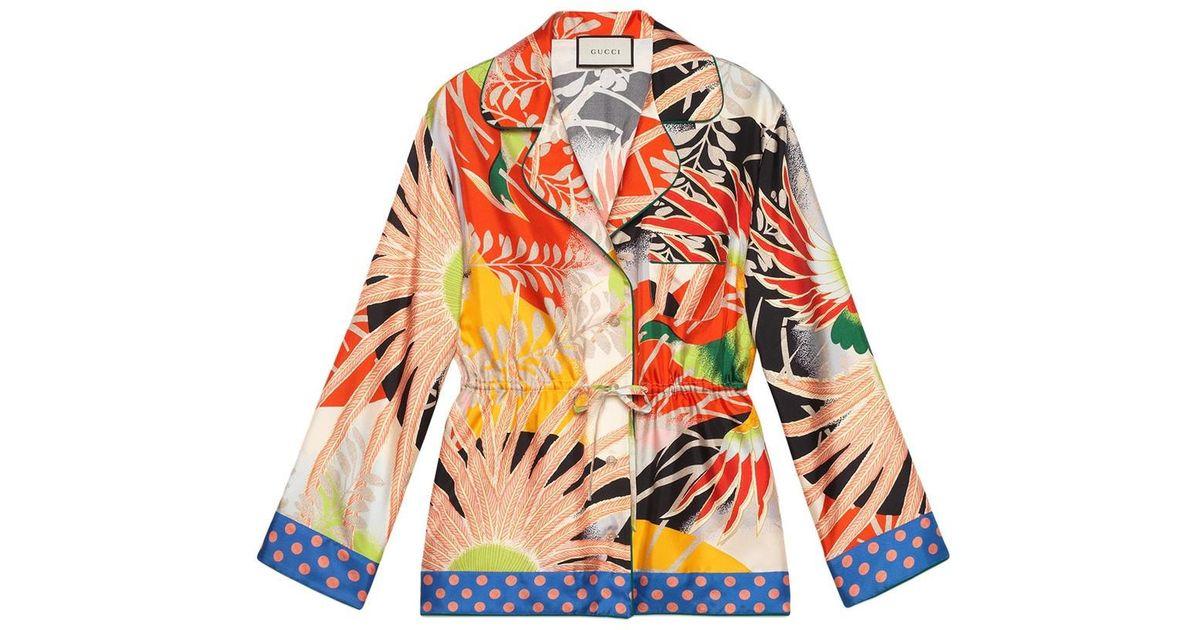 fb509b5b Lyst - Gucci Tops Women Multicolor