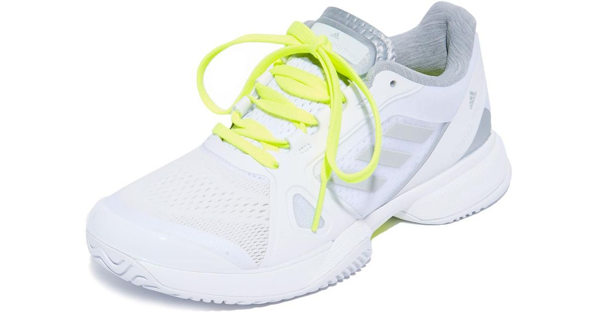 promo code 190dc 173d4 Adidas By Stella Mccartney Tennis Barricade Sneakers in Whit